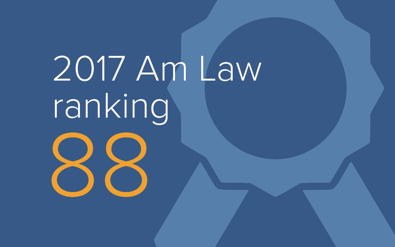 Nelson Mullins Joins Ranks of Top 100 U.S. Law Firms