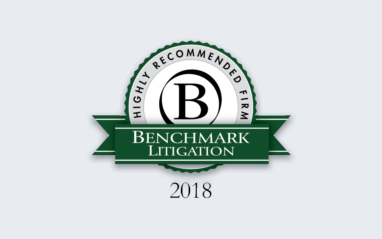 Eleven Nelson Mullins Attorneys Recognized in Benchmark Litigation 2018 Rankings
