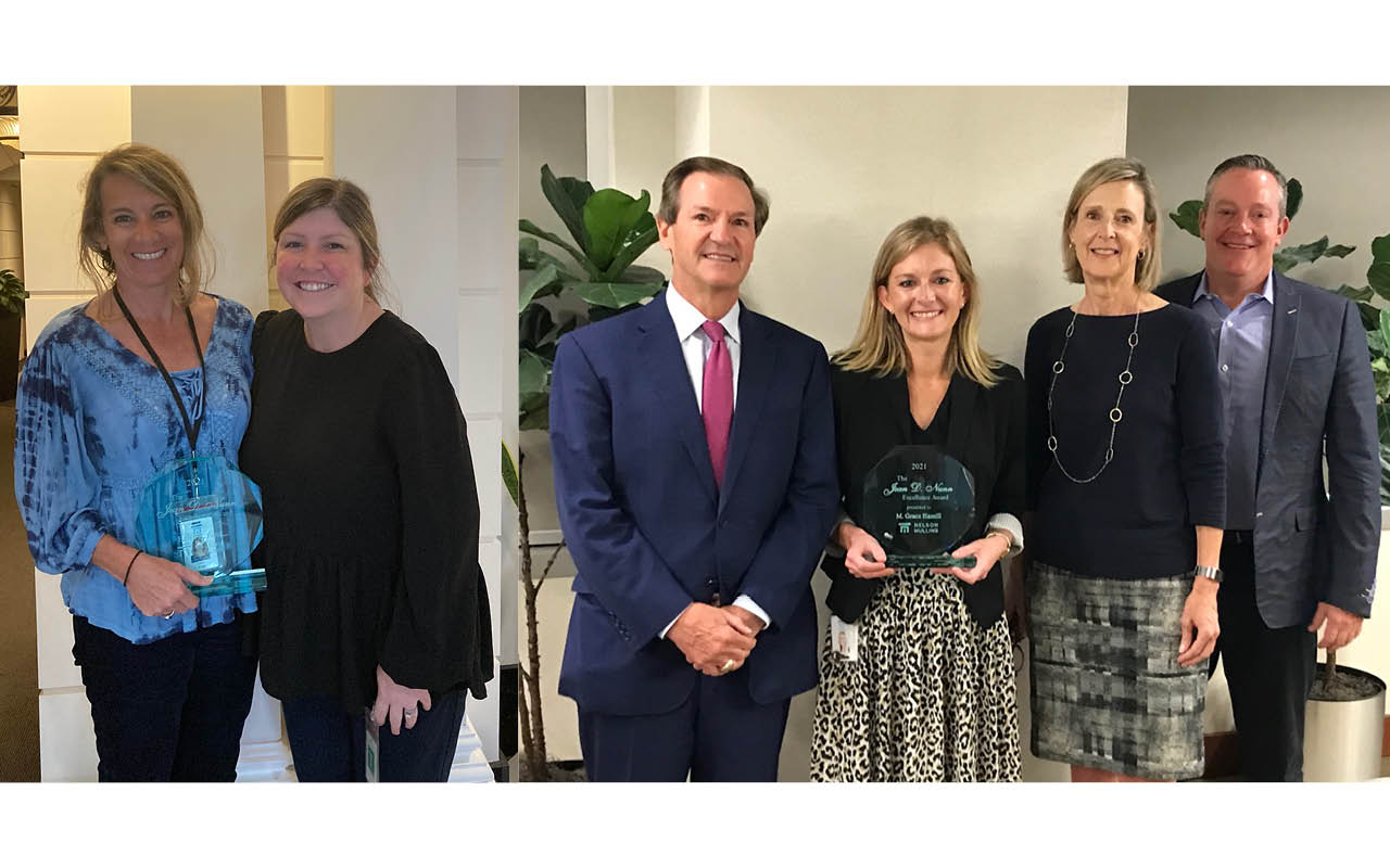 Nelson Mullins Recognizes Two Paralegals for Professionalism