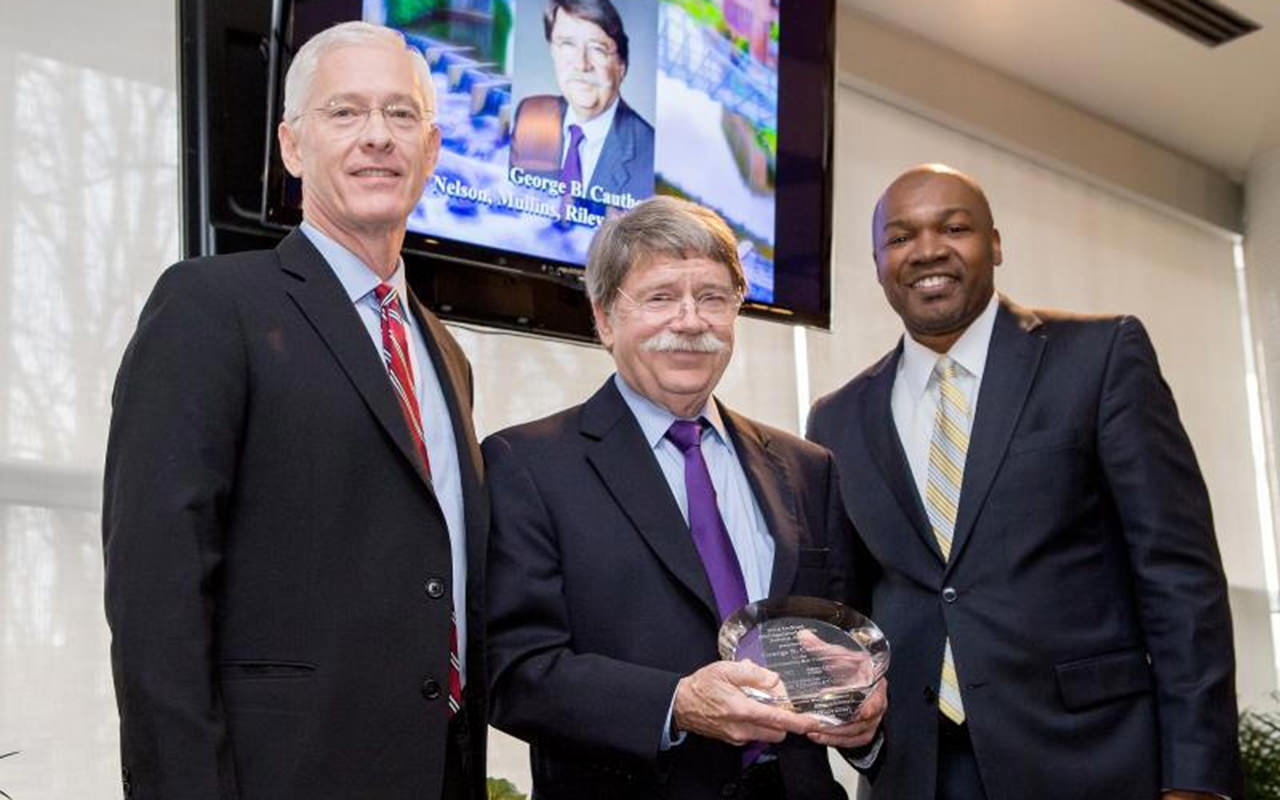 S.C. Bar Foundation Honors Nelson Mullins' Cauthen with DuRant Award