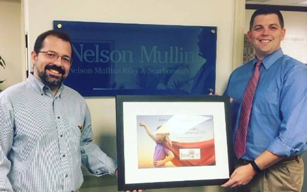 Nelson Mullins attorneys: Legal Aid pro bono participation rate showcases firm's commitment