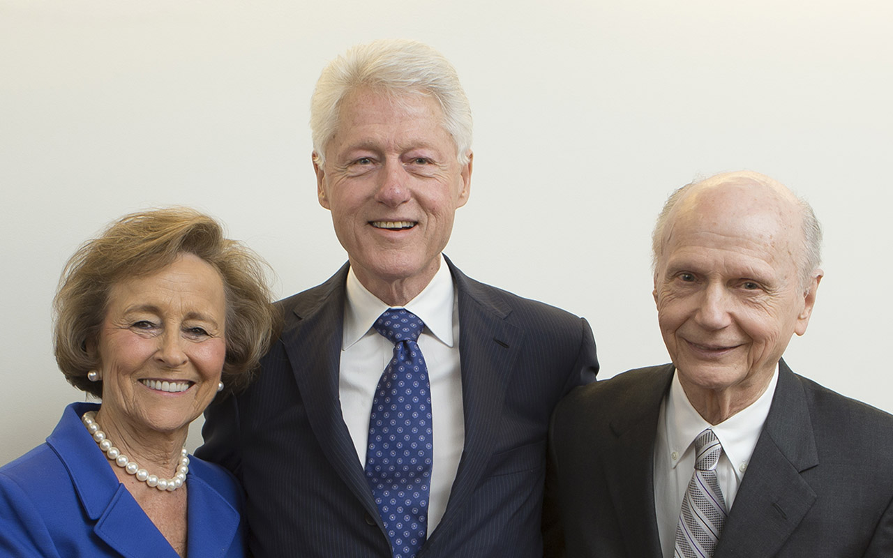 President Bill Clinton to Honor Former Governor Richard Riley at USC's S.C. Political Collections Event