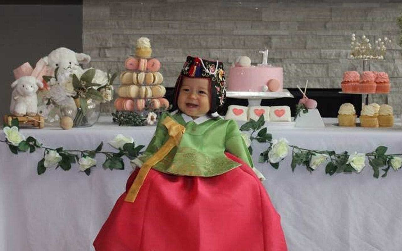 Elodi's Doljanchi: A Korean baby's first birthday celebration