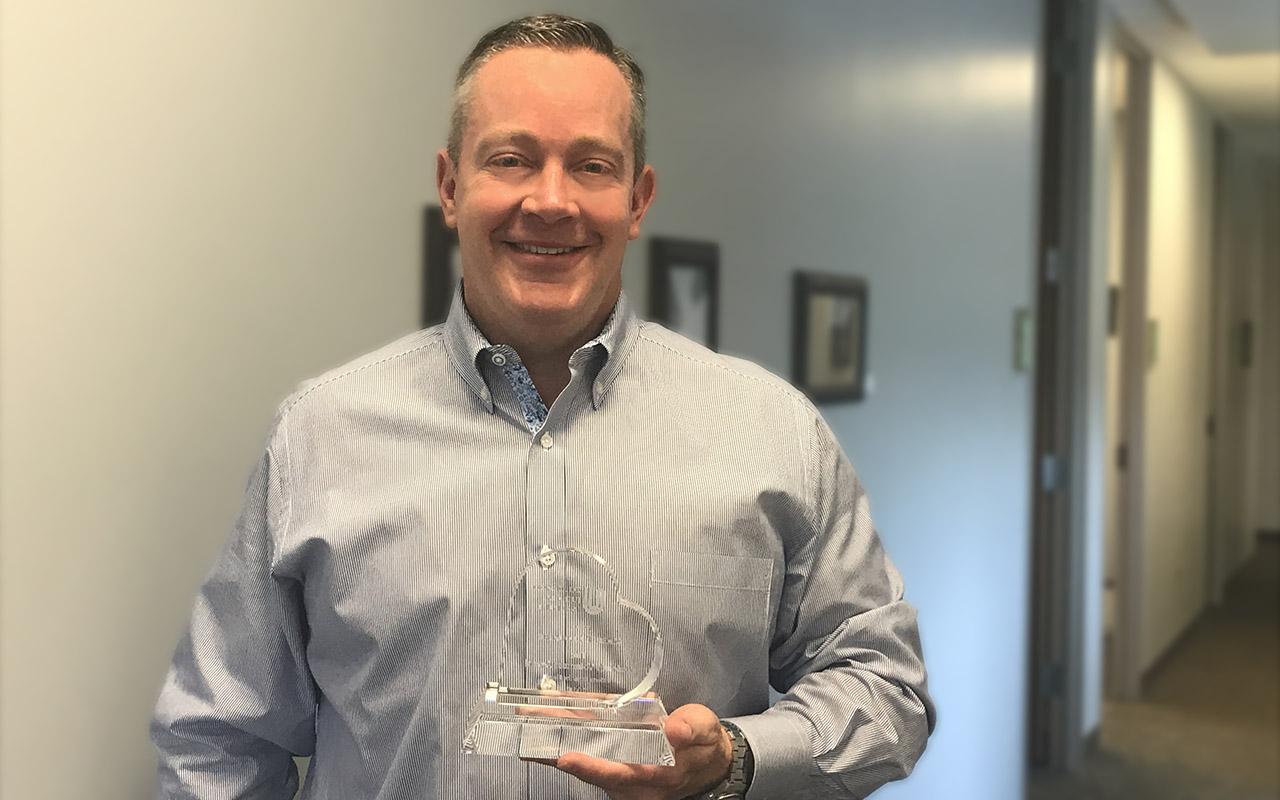 Mark Clouatre Honored with Colorado Judicial Institute Volunteer Award